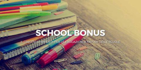 Bonus donazioni scuola vastarredo