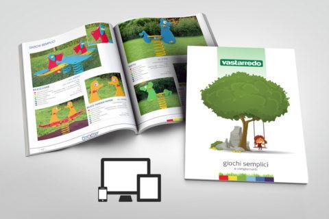 Catalogo giochi per giardino e parchi