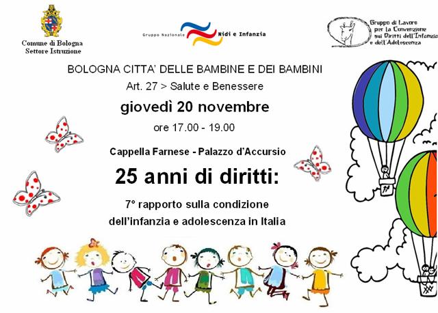 Giornata nazionale diritti dell'infanzia