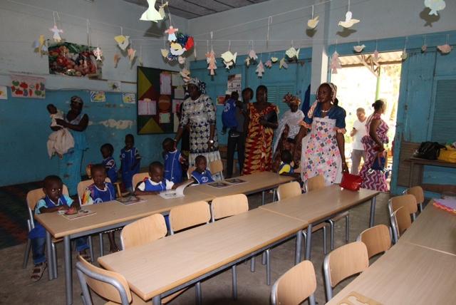 Nuova Scuola Materna in Africa Vastarredo
