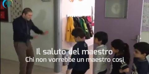 Il saluto del maestro
