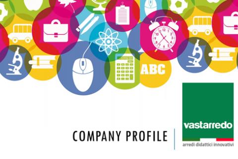 Company profile Vastarredo Mobili per la scuola